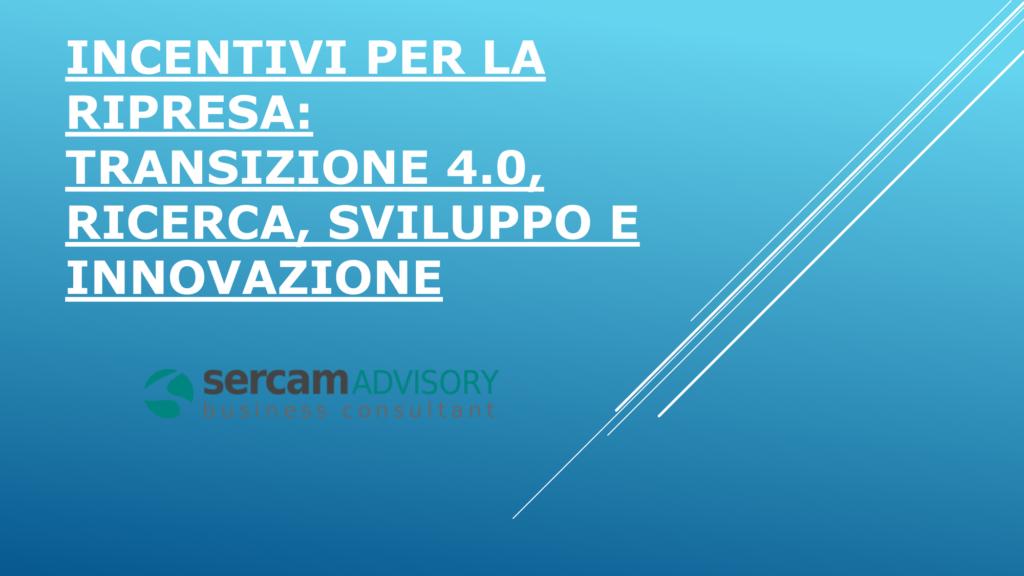 Incentivi per la Ripresa Marco Ginanneschi 1
