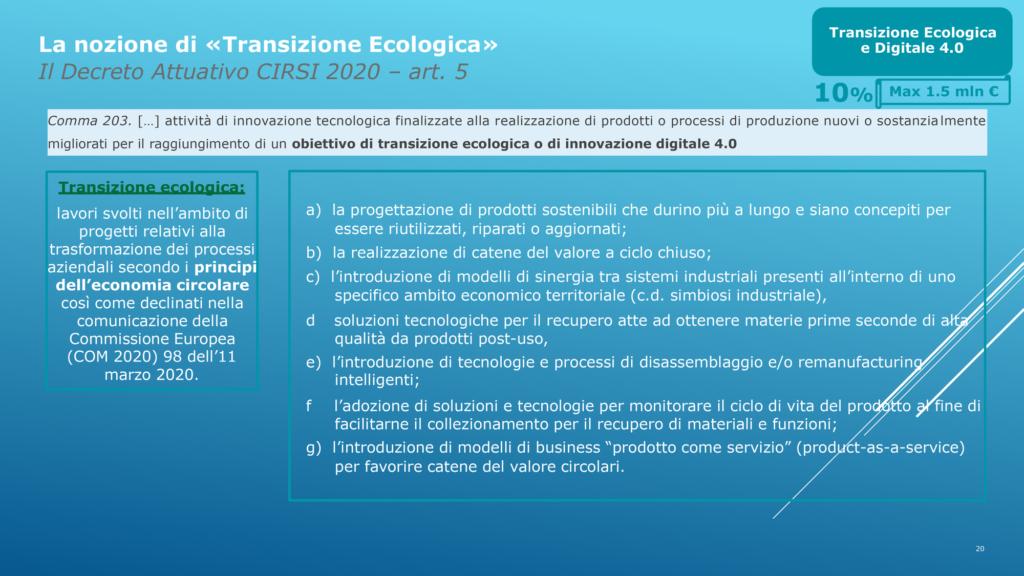 Incentivi per la Ripresa Marco Ginanneschi 14