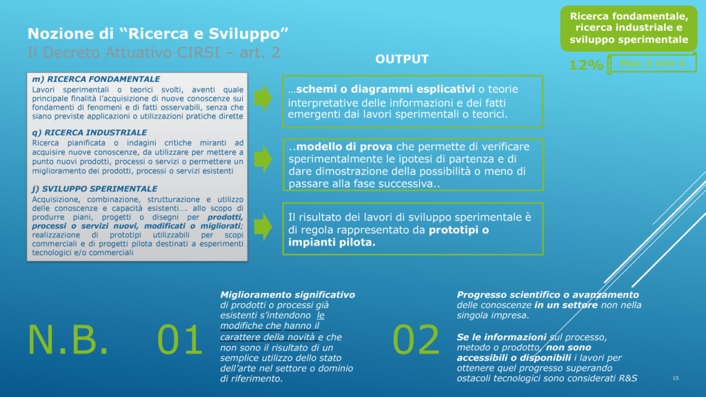 Incentivi per la Ripresa Marco Ginanneschi 9