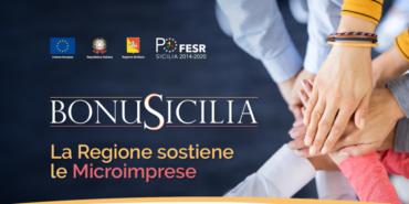 BonuSicilia, 125 milioni di euro per le microimprese