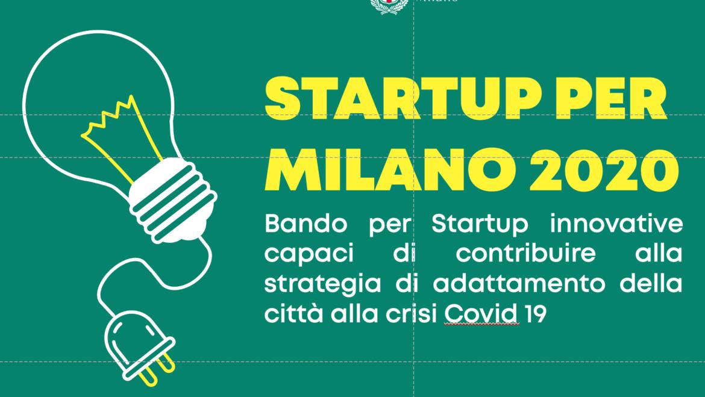 Bando Startup innovative per Milano 2020