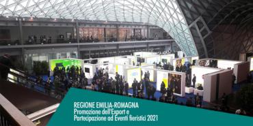 Emilia Romagna, Export e fiere contributo a fondo perduto fino al 100%
