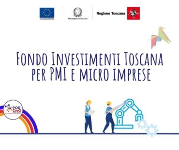 Regione Toscana, fondi per la ripresa degli investimenti per PMI e liberi professionisti