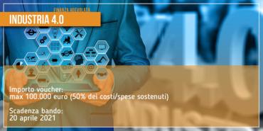INDUSTRIA 4.0: contributo a fondo perduto fino al 50%