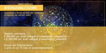 Internazionalizzazione: contributo per sostenere le imprese sui mercati esteri
