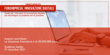 FONDIMPRESA: Innovazione digitale